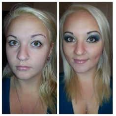 Before & After! Younique has amazing coverage! GET yours HERE! https://www.youniqueproducts.com/janiec/products/landing
