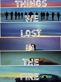 bastille things we lost in the fire lyrics video