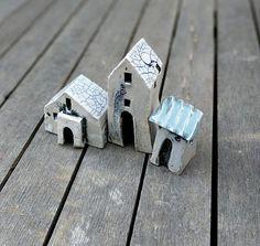 Small houses miniature house tiny clay house little houses