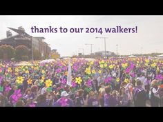Thank you 2014 Walkers! - YouTube