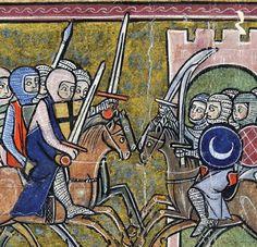 Saladino estava convencido de que o rei Balduíno IV e seu punhado de homens seriam incapazes de enfrentá-lo. Surpreendentemente ele se viu de frente para uma tropa resoluta e pronta para combatê-lo.