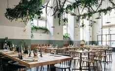 The dining space at Prado, Lisbon, Portugal