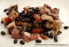 La Piccola Casa: La ricetta per Pasqua: polpo, fagioli neri, pomodori e olio al basilico