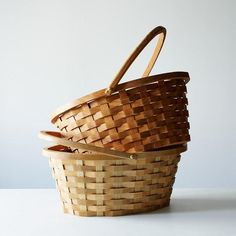 Wooden Easter Basket: A proper way to store your treats. #food52