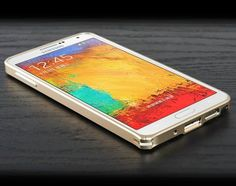 S3 Screen: Samsung Galaxy Note3 Bumper with Metal Buttons Special Design