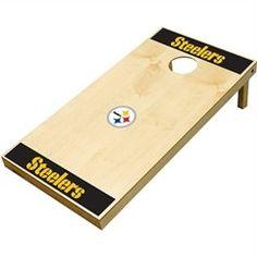 Wild Sports Pittsburgh Steelers XL Cornhole Tailgate Toss