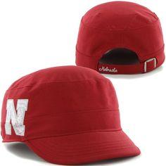 quality design 850f0 742ab  47 Brand Nebraska Cornhuskers Ladies Sparkle Fidel Adjustable Hat –  Scarlet (24.95) Be