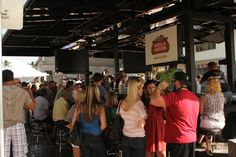 The amazing Bud Bar fully equipped with TVs  ! Amazing addition to our Annual Delray Beach Wine & Seafood Festival!