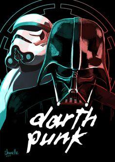 shorelle: Darth Punk