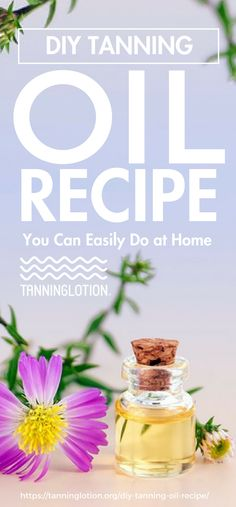 If you are someone who regularly tans, it's smart to make your own DIY tanning oil. Learn how to make your own tanning oil with essential oils here! Coconut Oil For Tanning, Homemade Tanning Lotion, Best Tanning Oil, Natural Tanning Oil, Coconut Oil For Acne, Diy Lotion, Tanning Tips, Sun Tanning, Easential Oils