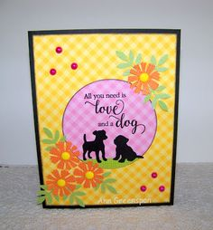 Ann Greenspan's Crafts: All You Need is Love and a Dog
