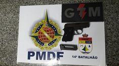 Foto: PMDF/internet/reprodução.     Hoje (27) por volta de 15h30 um policial militar aposentado pr...