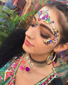 """573 Likes, 8 Comments - IN YOUR DREAMS (@itsinyourdreams) on Instagram: """"♢WOWOW Our colourful rainbow pixie @valandiaa ✨A dreamy explosion of sequins, jewels, glitter and…"""""""