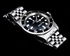 Rolex Submariner on a jubilee bracelet