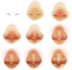 코 그리기 자료 입니다. : 네이버 블로그