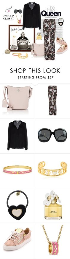 """""""Private wardrobe peek: my spring me"""" by juliabachmann ❤ liked on Polyvore featuring Marc by Marc Jacobs, Peek, Dorothee Schumacher, Milly, Tom Ford, Marc Jacobs and Giuseppe Zanotti"""