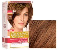 loreal excellence 6.41 fındık kahvesi - Google'da Ara Golden Brown Hair, Ash Brown Hair, Zooey Deschanel, Loreal Excellence, Cabello Zayn Malik, Dark Skin, Band, Ideas Para, Beauty