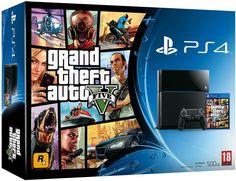 Console PS4 500 Go + GTA V: Amazon.fr: Jeux vidéo