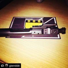 #Repost @glenn009  Just got my new @grahamdefenseusa DLC (diamond-like carbon) BCG. Can't wait to try it out! #grahamdefenseusa #BCG #boltcarriergroup # #DLC #diamondlikecarbon #ar15 #stagarms #merica