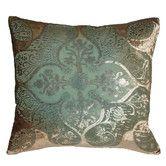 Persian Velvet Decorative Pillow
