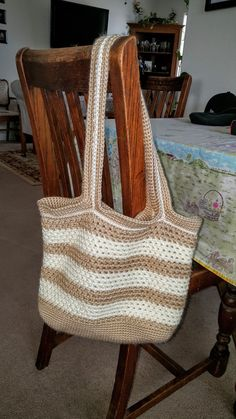 This textured mesh tote bag works up real nice and can be used for many different purposes!     Finished Measurements:   Length about 14 inches / 35.56 centimeters with a 13 inch / 33.02 centimeter strap drop  Width about 13 inches / 33.02 centimeters    Care instructions: Machine wash cold/gentle or hand wash, Dry low or shape and lay flat to dry. Do not Bleach.    Please scroll down to see my frequently asked questions section for links to the different colors that I use and leave those…