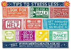 Mental Health Tips... want this as a poster in my office.
