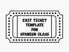 "The ""Exit Ticket"" is a technique used by many teachers in different subjects. It's usually utilized at the end of the class before the stud..."