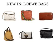 """""""LOEWE BAGS"""" by matchesfashion ❤ liked on Polyvore featuring Loewe"""