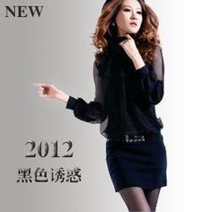 2013 spring new JORYA SHYH long-sleeved lace dress skirts women
