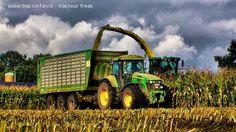 Great John Deere tractor picture!