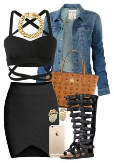 """Untitled #1509"" by lulu-foreva ❤ liked on Polyvore featuring Fat Face and MCM"