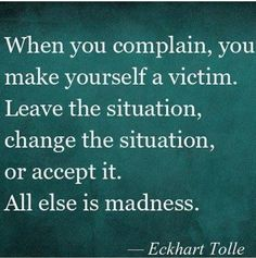 This is one of my favorite words from Eckart Tolle. This is very true and what I tell myself and the people in my life Now Quotes, Life Quotes Love, Great Quotes, Quotes To Live By, Motivational Quotes, Inspirational Quotes, Quotes Of Wisdom, Wife Quotes, Motivational Thoughts