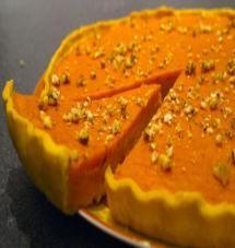 Pumpkin pie (tarte sucrée au potimarron) - Debra A Newberry Pumkin Pie, Pumpkin Pie Cheesecake, Cheesecake Recipes, Healthy Thanksgiving Recipes, Fall Recipes, Sweet Recipes, Pumpkin Recipes, Mince Pies, Köstliche Desserts