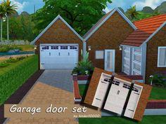20 Best Sims 4 Garage Doors Images In 2018