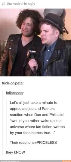 >> solution Patrick could wake up in a Petekey FanFiction!!!  Problem solved