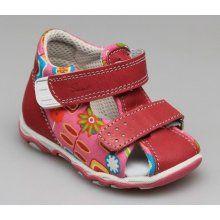 Dětské zdravotní sandále růžové