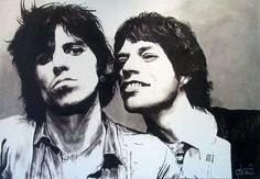 Keith and Mick by Cabe Booth, via Flickr