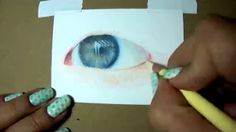 tear drop pencil drawing tutorial - YouTube