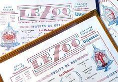 Aufgespießte Hähne und turnende Affen: de Vicq Design gestalten das Erscheinungsbild des Bistros »Le Zoo« – und halten sich mit Tierischem zurück.● Roberto de Vicq ist mit seinem New Yorker Designstudio spezialisiert auf typografische Buchgestaltung und auf Restaurant-Branding. Preisgekrönt ist sein