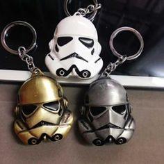 Star Wars Keyring Keychain Han Solo BB-8 ATAT Vader Anakin Luke Skywalker R2D2