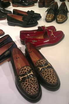 Russell & Bromley// I'll take them all!! #loafers #shoes