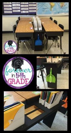 Check out how to make these great file box shelves at Forever in Fifth Grade!
