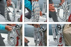 No Foil to This Coil: Having trouble with coiled halyards or lines that keep coming undone on your boat? Let's solve the problem once and for all.