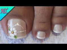 Pedicure Nails, Toe Nails, Nail Art Videos, Cute Nail Art, Beautiful Nail Designs, Perfect Nails, Simple Nails, Short Nails, Beauty Nails
