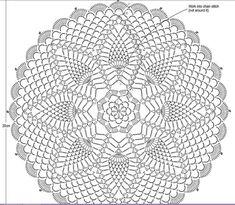 Tecendo Artes em Crochet: Toalhinha Diva com Gráfico!