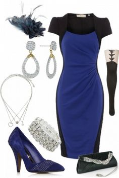 0d52490f891b Blue   Black Chic Mujeres Profesionales