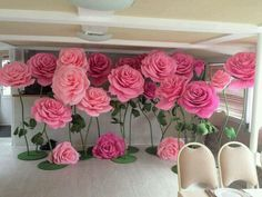 Lindas Flores, Decoração  de festa!
