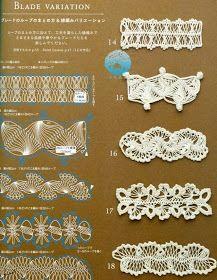 Ivelise Feito à Mão: Tirinhas Em Crochê De Grampo