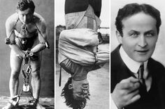 houdini actress straitjacket escape attempt