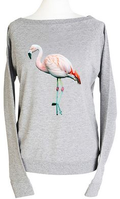 (vu) Flamingo shirt - Leoninda
